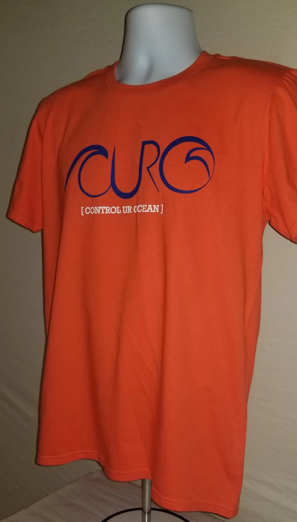 Orange T-Shirt With Blue CURO