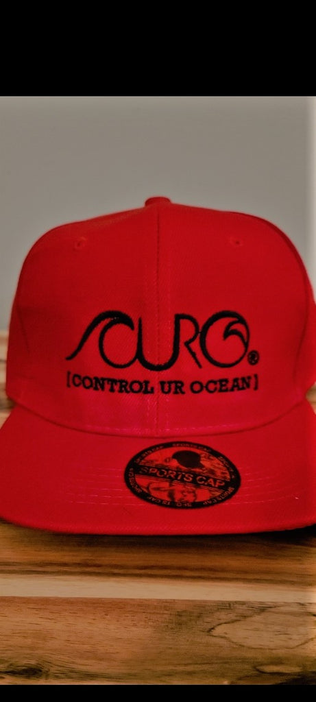 CURO Red snap back