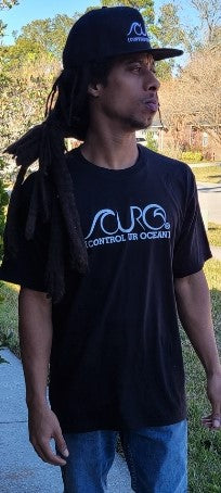 CURO Black & White T-Shirt