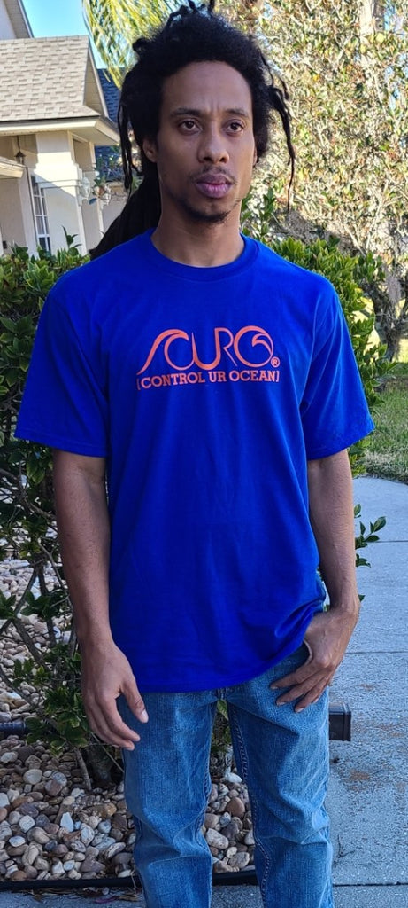 CURO Blue & Orange T-Shirt
