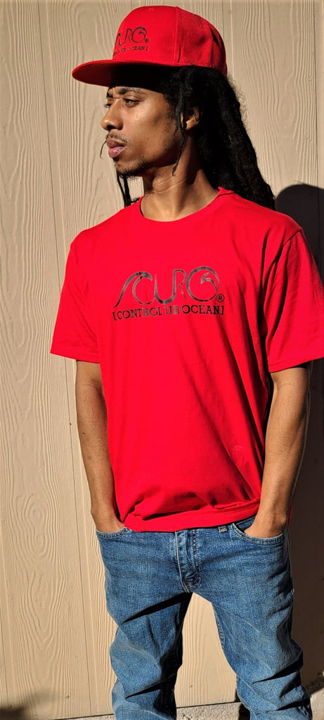 CURO Red & Black T-Shirt