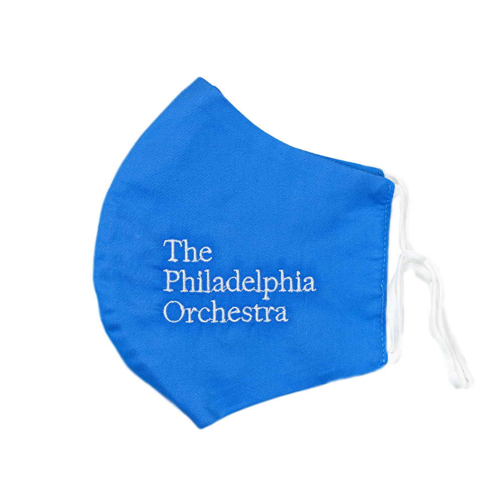 Limited Edition Philadelphia Orchestra Logo Embroidered Mask