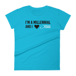 Millennials Love Jesus Too Women's T