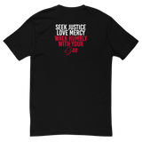 Black Lives Matter Micah 6.8 T-Shirt