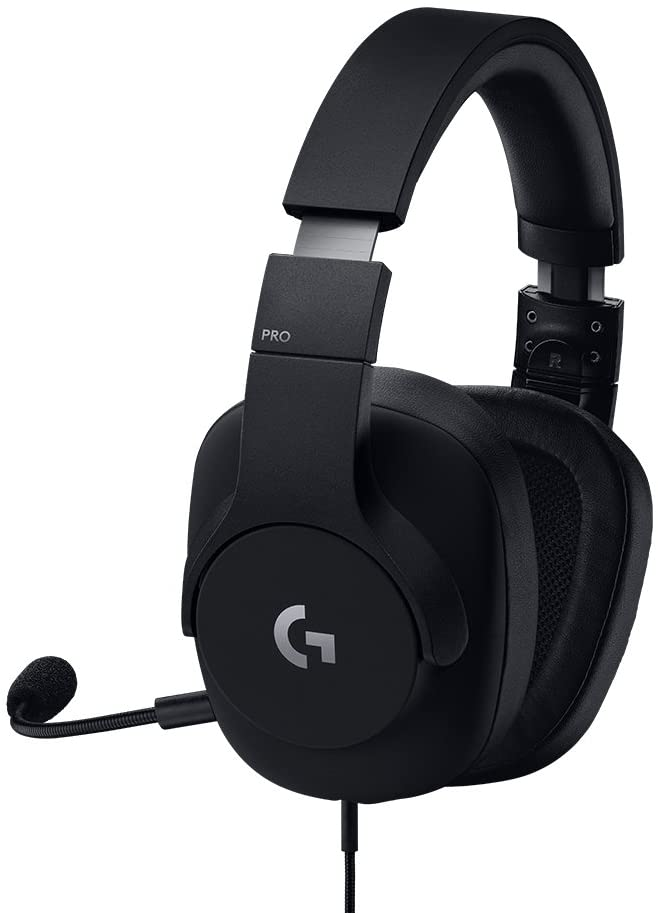 Logitech G Pro Gaming Headset with Pro Grade Mic- for Pc, Mac, Xbox One, Playstation 4, Nintendo Switch