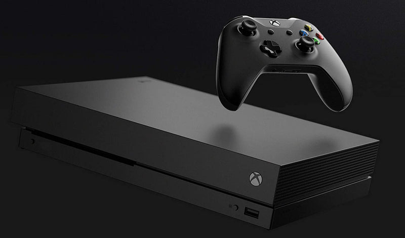 Microsoft Xbox One X 1TB Console with Wireless Controller: Xbox One X Enhanced, HDR, Native 4K, Ultra HD (Renewed)