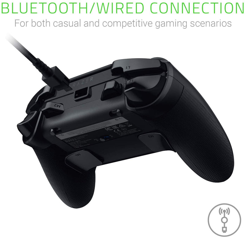 Razer Raiju Tournament Edition, Wireless and Wired Gaming Controller with Programmable Mecha-Tactile-Action-Buttons and Esports Ergonomics