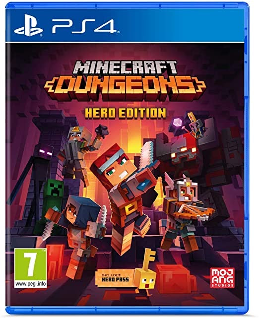 Minecraft Dungeons Hero Edtion