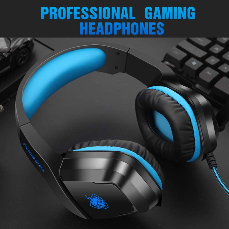 PHOINIKAS H1 Wired Gaming Headset