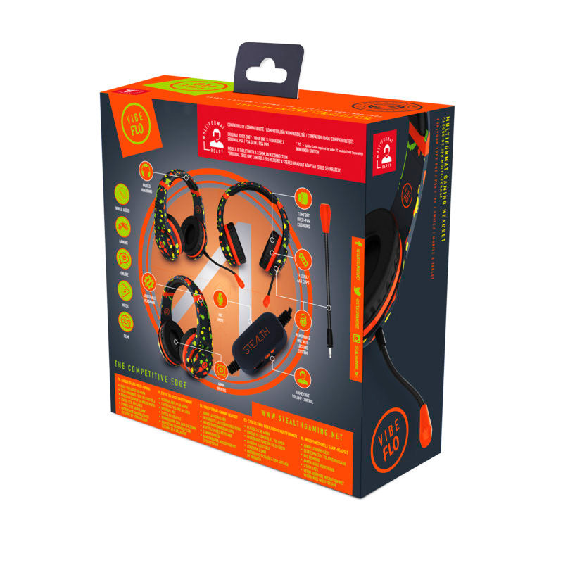 Stealth VIBE FLO GREY STEREO GAMING HEADSET