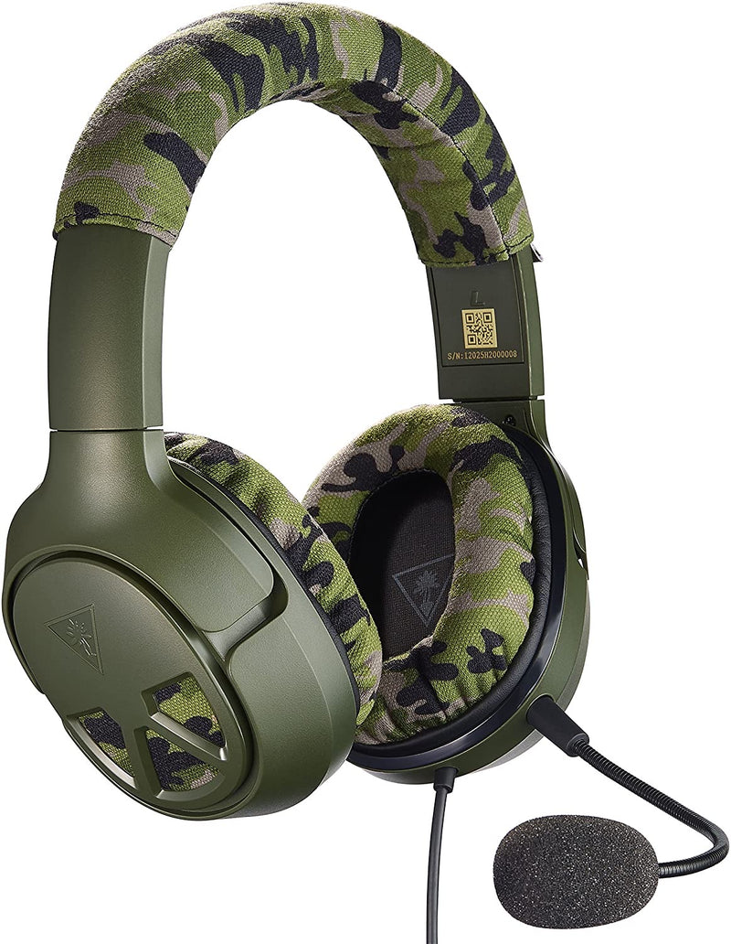 Turtle Beach Recon Camo Gaming Headset - PS4, Xbox One and PC