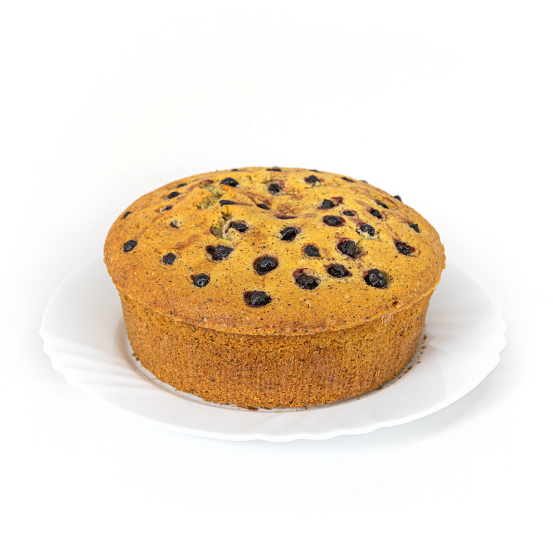 Earl Grey Berries Pound Cake