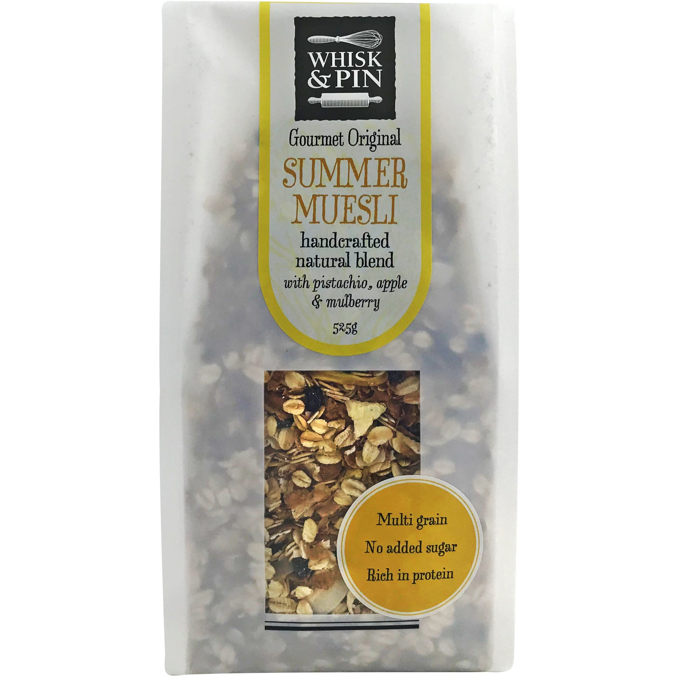 Whisk & Pin Gourmet Summer Muesli 525g