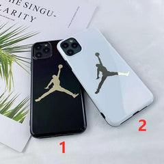 Glass Jumpman IPhone Case 🏀 - CASES THAT SLAY 🤍💍💸