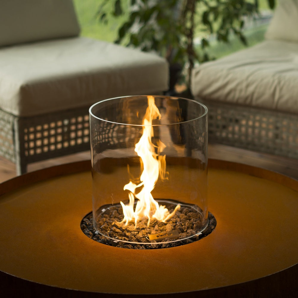 Glass Cylinder for GALIO Fire Pit (4423140999210)