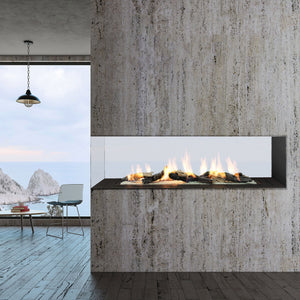 Load image into Gallery viewer, Sinatra Custom Linear Gas Fireplace