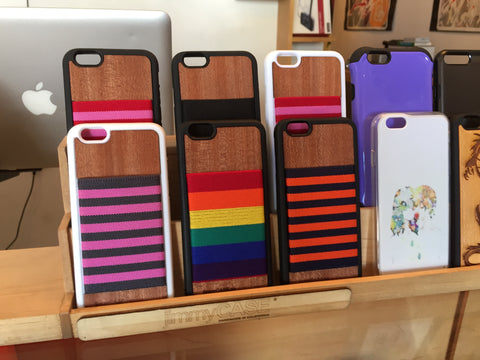 Living Large With Custom iPhone 6S Case With Wallet at TechStudio