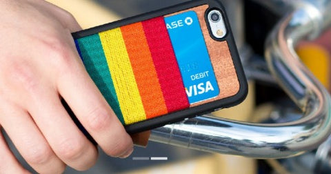 Rainbow iPhone Wallet Case