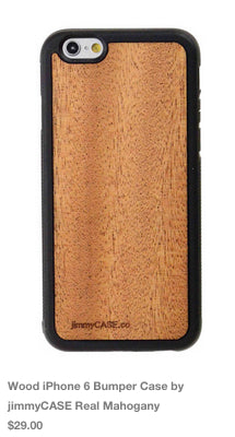 wood iPhone 6 Case