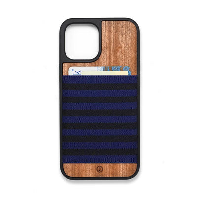 Navy Blue and Black