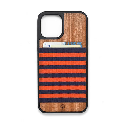 Orange Navy Blue