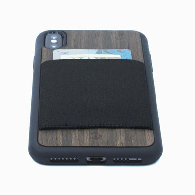 The Ebony Wood Wallet Case