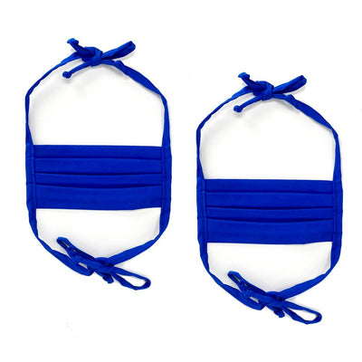Fabric Face Mask with Ties 2-Pack