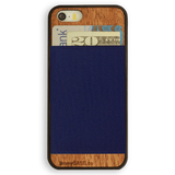 Navy iPhone Wallet Case