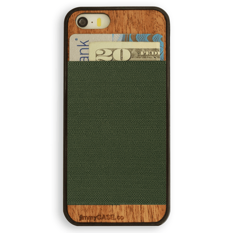 Green iPhone Wallet Case