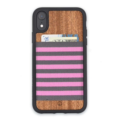 Pink and Gray Stripe