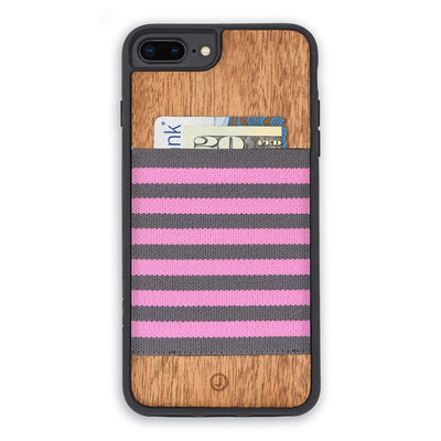 Pink Gray Stripe Black Bmpr
