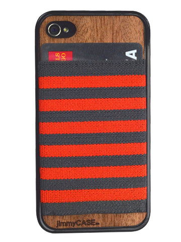 Orange iphone 6 Wallet Case