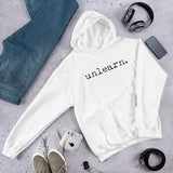 Unlearn Hoodie White-Out - Collector Culture