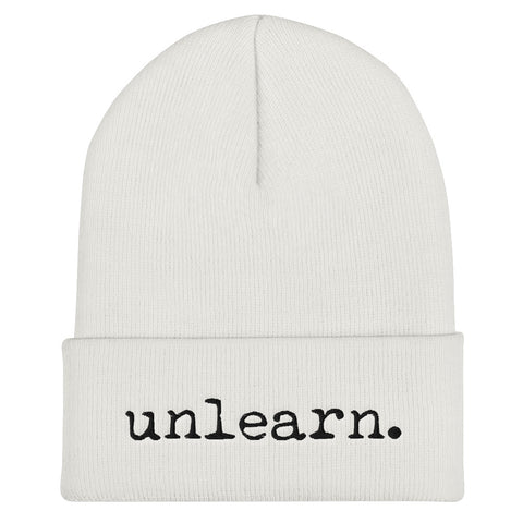 Unlearn Beanie - Collector Culture