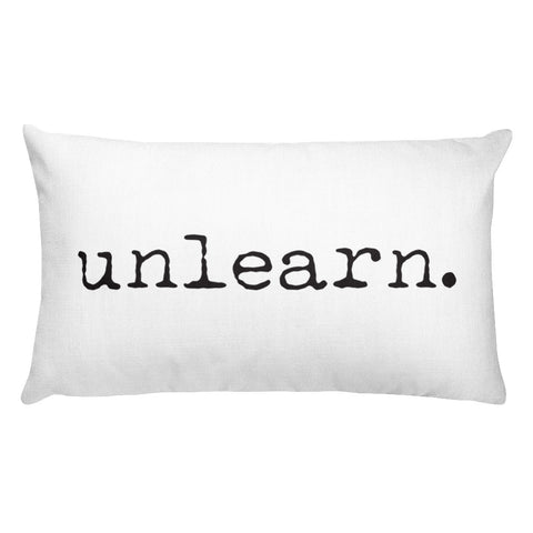Unlearn Pillow - Collector Culture