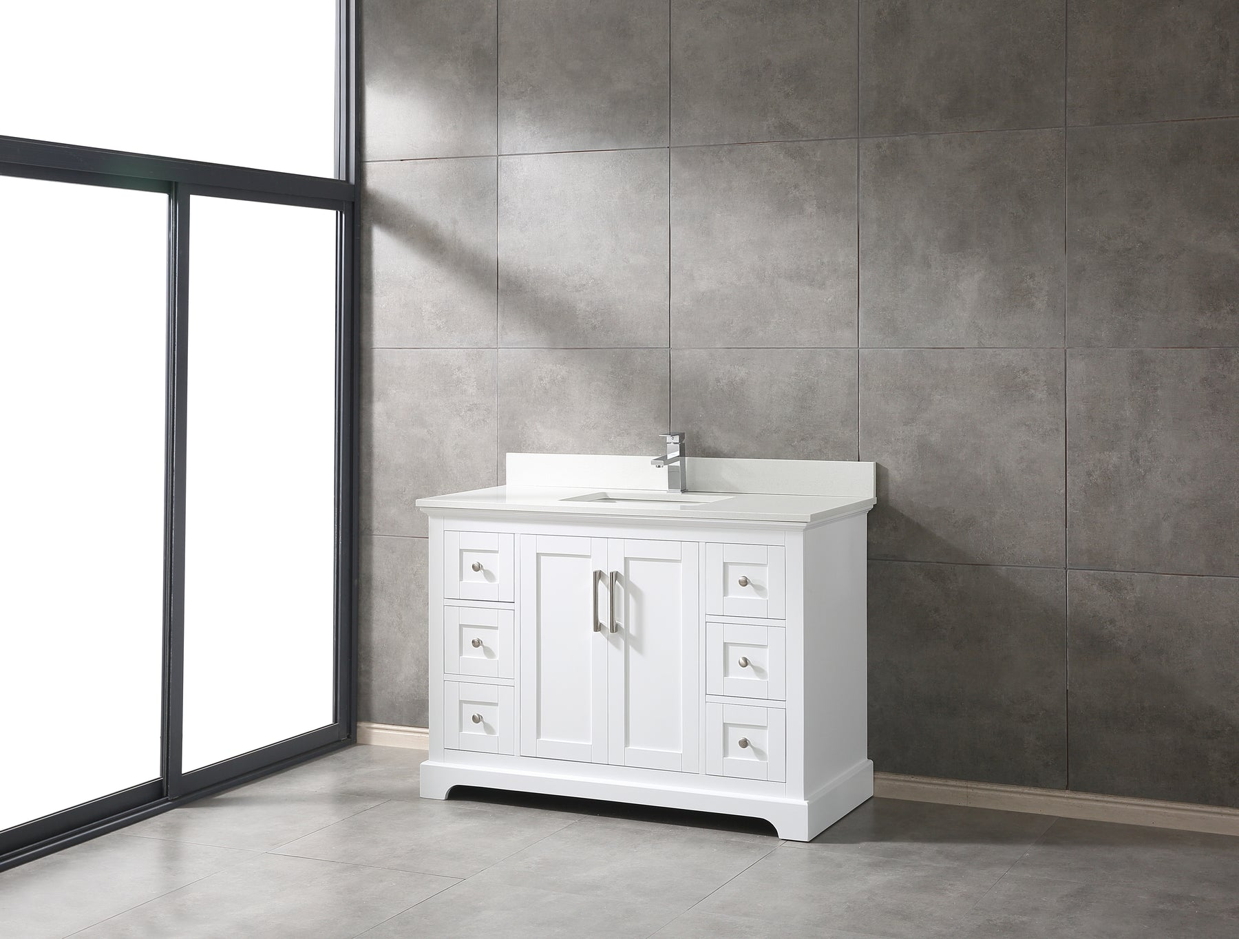 What are the standard sizes for bathroom vanity?