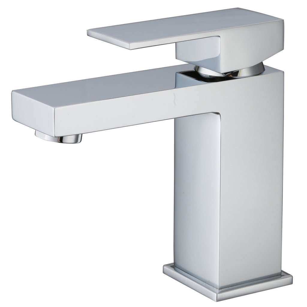 KODAEN- F11123 Single Handle, Chrome Bathroom Faucet - Vanity Sale