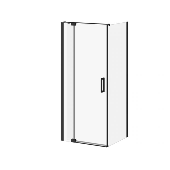 "Distink- 54"" x 77"" x 32"" Pivot Shower Door With 32"" Return Panel  Corner Shower Door"