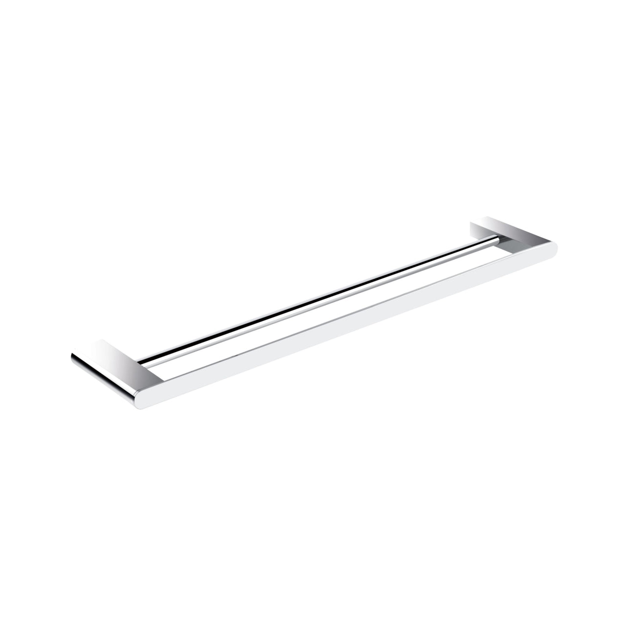 "AQUA CHIARO- 24"" Chrome Double Towel Bar - Vanity Sale"