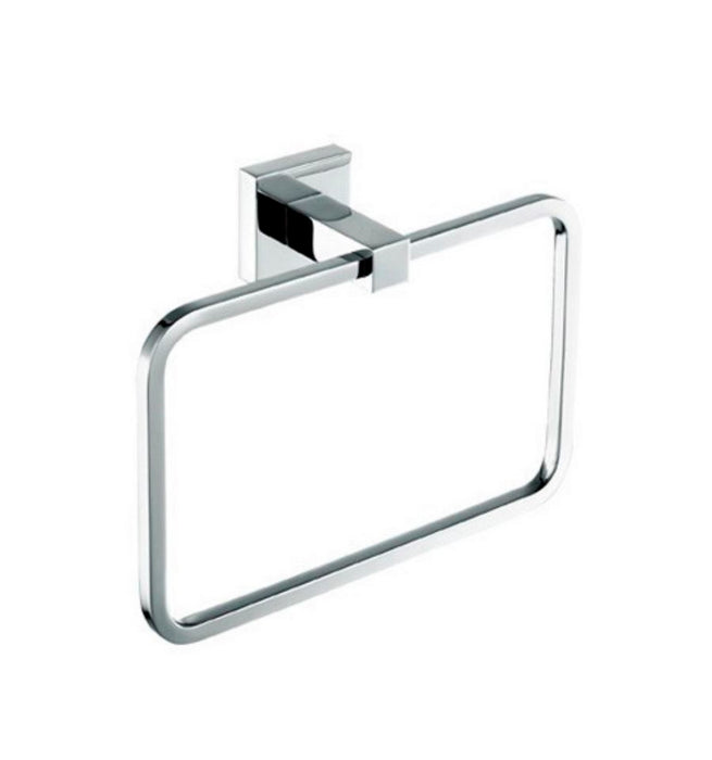 AQUA PIAZZA- Chrome Towel Ring - Construction Commodities Supply Inc.