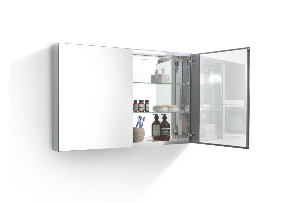 "BISTON- 40"" Mirrored Bathroom Medicine Cabinet vanity-sale.myshopify.com"