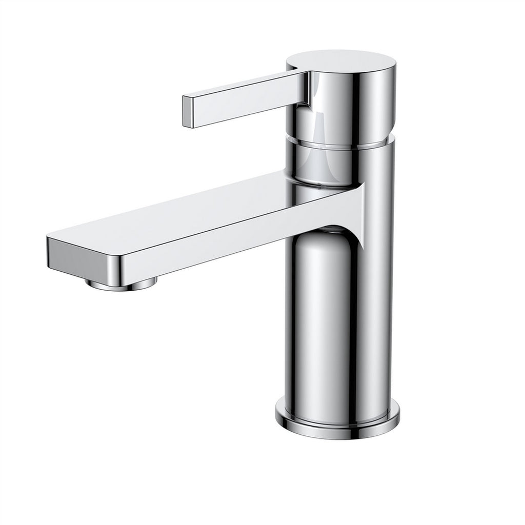 AQUA SOTTO - Chrome Single Lever Bathroom Faucet - Construction Commodities Supply Inc.