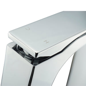 AQUA CASCATA - Chrome Single Lever Bathroom Faucet vanity-sale.myshopify.com