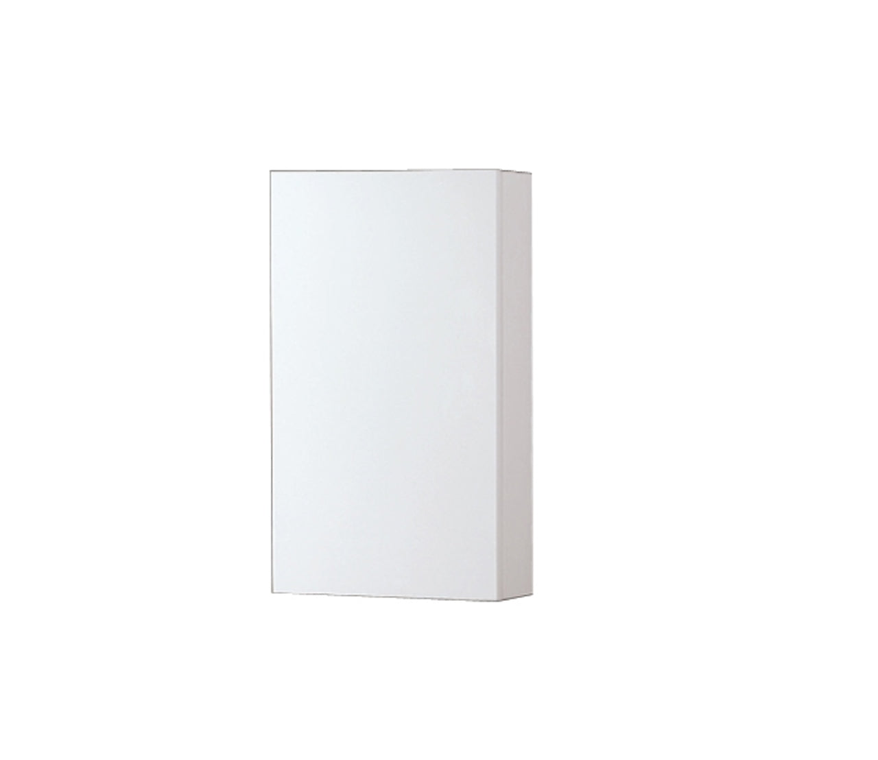 "24"" High Bathroom Linen Side Cabinets, Gloss White - Vanity Sale"