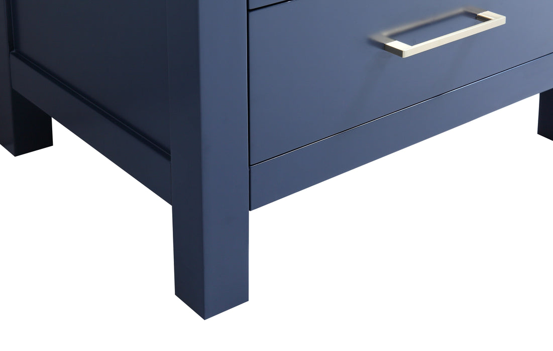 "CCS201 - 24"" Navy Blue, Floor Standing Modern Bathroom Vanity - Vanity Sale"