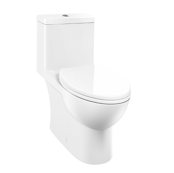 Caravelle Smart 270 - One Piece Easy Height Elongated Toilet - Vanity Sale