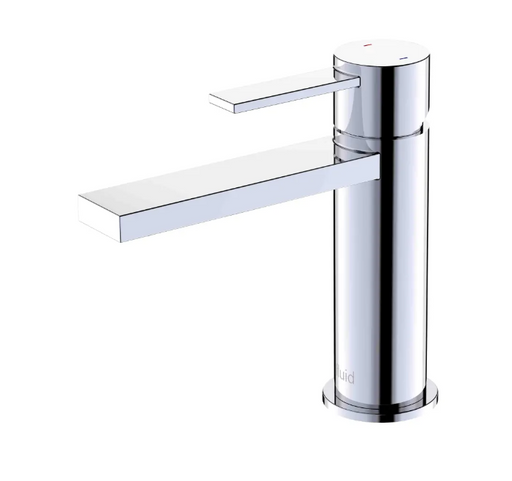 """Fluid-Citi""- Single Lever Chrome Bathroom Faucet - Vanity Sale"