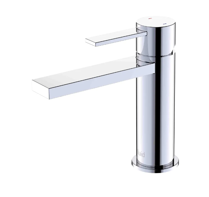 """Fluid-Citi""- Single Lever Chrome Bathroom Faucet - Construction Commodities Supply Inc."