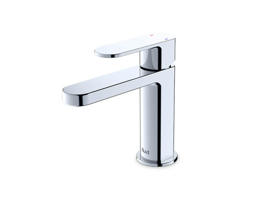 """Fluid- Wisdom""- Single Lever Chrome Bathroom Faucet - Construction Commodities Supply Inc."