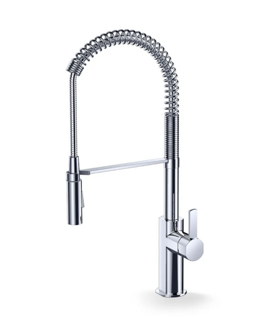 F830- Chrome, Pre-Rinse Industrial-Look Faucet  Kitchen Faucet